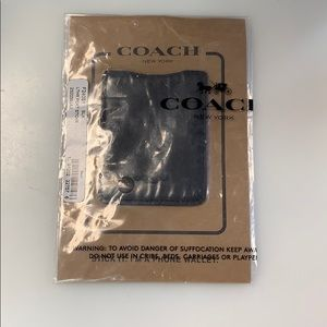 Brand New Coach Phone Back Wallet